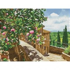 tuscan vista - diamond dotz squares dq8.013  41x31cm