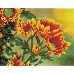 field daisies - diamond dotz squares dq9.001 45x35cm