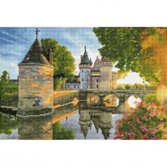 river castle - diamond dotz squares dq12.002 52x35cm