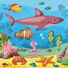 dotz in the ocean - dotz box 28x28cm dbx.029