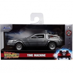 time machine ritorno al futuro i - 1:32 die cast