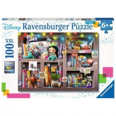 libreria disney - puzzle 100 pezzi xxl