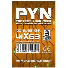 pyn 41x63 - confezione da 100 bustine protettive