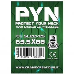pyn 63,5x88 - confezione da 100 bustine protettive
