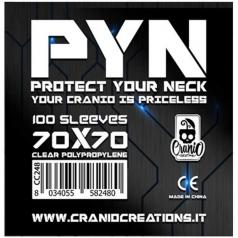 pyn 70x70 - confezione da 100 bustine protettive