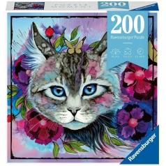 cateye - puzzle 200 pezzi - puzzle moments