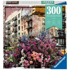 flowers in new york - puzzle 300 pezzi - puzzle moments