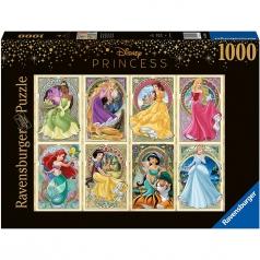 principesse dell'art nouveau - puzzle 1000 pezzi