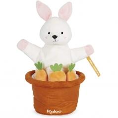 robin il coniglietto - burattino a comparsa