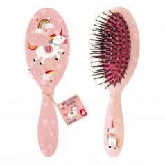 spazzola per capelli in legno