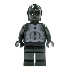 sw212 - droide protocollare nero
