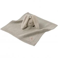doudou lapidou in tricot di cotone beige 26cm