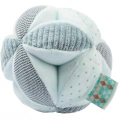 palla attivita con sonaglio lapidou in peluche verde menta