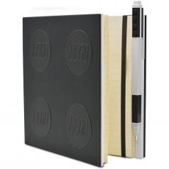 notebook quaderno con 1 penna - colore nero