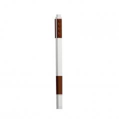 penna gel - colore marrone