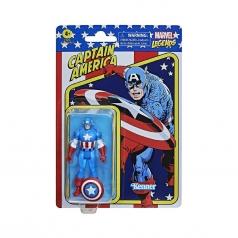 marvel legends retro - captain america
