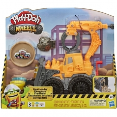 play-doh wheels - escavatore deluxe front loader