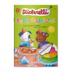 buon appetito! stickerelli. con adesivi