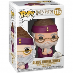 harry potter - dumbledore with baby harry - funko pop