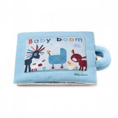 baby boom - libro in stoffa interattivo