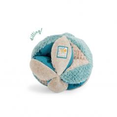 palla sensoriale in peluche blu sous mon baobab