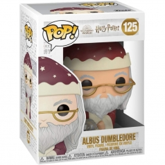 harry potter - albus dumbledore holiday - funko pop 125