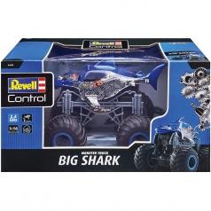 """monster truck """"big shark"""" - radiocomando 2,4ghz"""