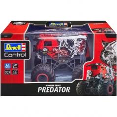 "monster truck ""predator"" - radiocomando 2,4ghz"