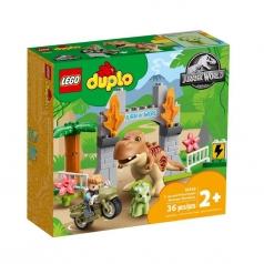 10939 - fuga del t.rex e del triceratopo
