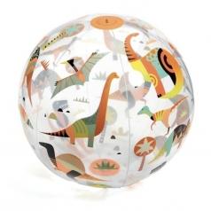 dino ball - palla gonfiabile fluo - 35cm