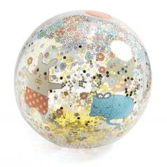 kawaii - palla gonfiabile con glitter - 35cm