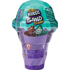 kinetic sand - cono gelato 113g sabbia cinetica