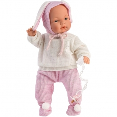 joelle con sacco - bambola 38cm
