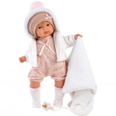lola con copertina - bambola 38cm