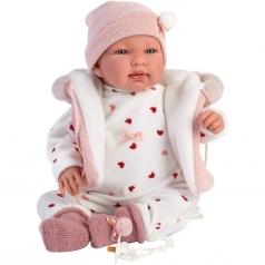 tina con giacca - bambola 44cm
