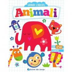 animali. grandi stickers