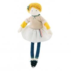 mademoiselle eglantine bambola in stoffa