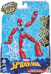 marvel's scarlet spider - personaggio bendy 15cm bend and flex