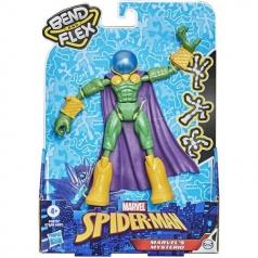 marvel's mysterio - personaggio bendy 15cm bend and flex