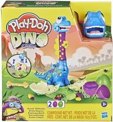 play-doh dino crew - growin' tall bronto con 2 colori