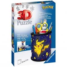 portapenne pokemon - puzzle 3d