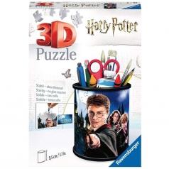 portapenne harry potter - puzzle 3d