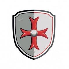shield maltese cross
