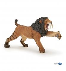roaring smilodon