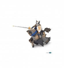 dragon black prince and horse