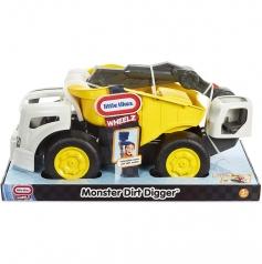 monster dirt digger - escavatore con cassone ribaltabile