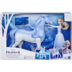 frozen 2 - elsa e cavallo nokk elettronico
