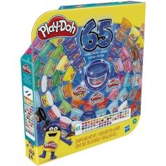 play-doh - confezione 65 vasetti