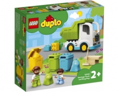 10945 camion della spazzatura e riciclaggio