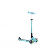 globber primo foldable lights - monopattino a tre ruote pieghevole - navy bleu